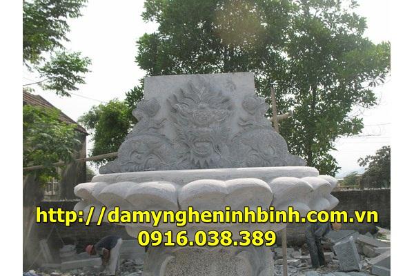 Mẫu bàn thờ đá  3