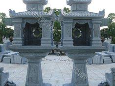 Cây hương thờ đá 2 mái