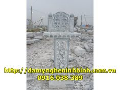 Mẫu bàn thờ đá