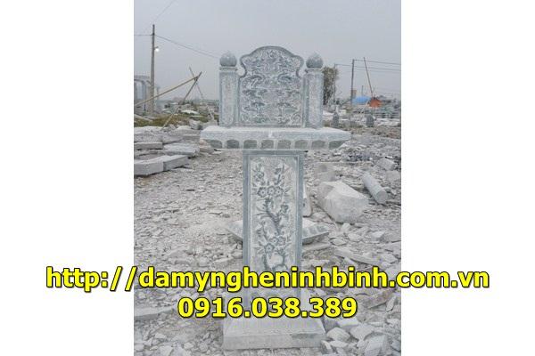 Mẫu bàn thờ đá -1