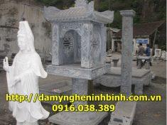 Mẫu bàn thờ đá  7