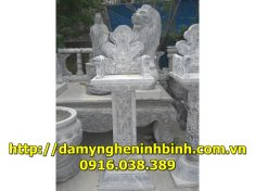 Mẫu bàn thờ đá  10
